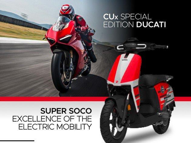 Ducati Scooter Elétrica
