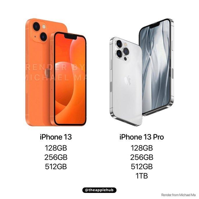 iPhone 13 vai começar nos 128 GB de armazenamento interno