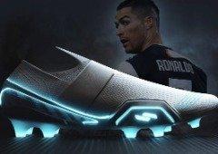 E se o Ronaldo tivesse umas chuteiras da Tesla? Este podia ser o design!