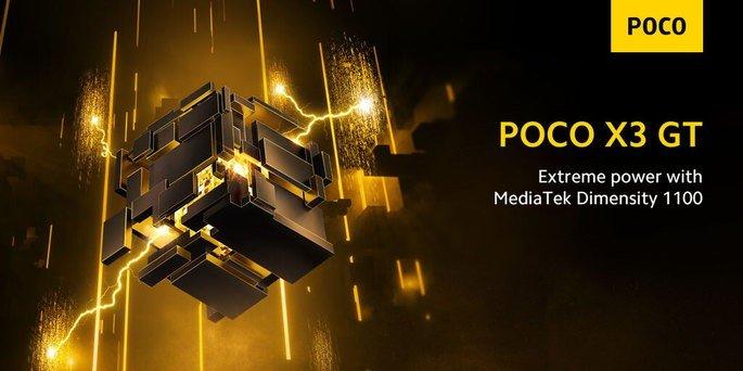 MediaTek Dimensity será o processador do POCO X3 GT