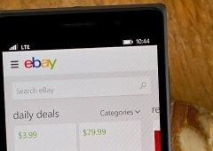 Aplicação eBay para Windows Phone vai deixar de funcionar