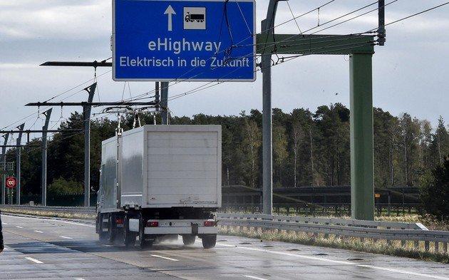 Autoestrada elétrica alemanha