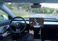 Eis como funciona um Tesla com o piloto automático