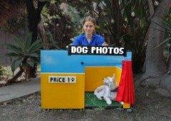 Eis o gadget perfeito para o teu cão tirar selfies. Tudo em LEGO!