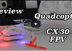 Quadcopter FPV CX-30W WIFI Review Português iPhone/android
