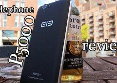 Elephone P5000 Review Português - Excelente qualidade/Preço