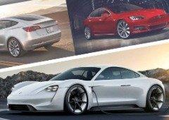 Elon Musk 'ataca' o Porsche Taycan e vai levar o Tesla Model S para a pista!