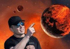 Elon Musk (CEO da Tesla) agora quer usar espelhos gigantes para tornar Marte habitável