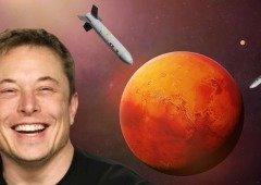 Elon Musk (CEO da Tesla e SpaceX) quer lançar bombas nucleares para Marte