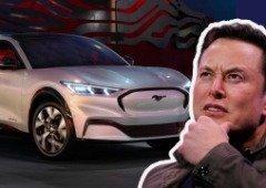 Elon Musk, CEO da Tesla, fala sobre o novo Ford Mustang Mach-E