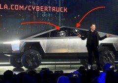 Elon Musk mostra que as janelas do Cybertruck afinal aguentam uma bola de aço! (vídeo)