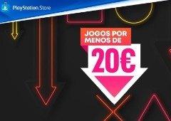 Em busca de jogos baratos? PlayStation com nova campanha de Jogos por Menos de €20!