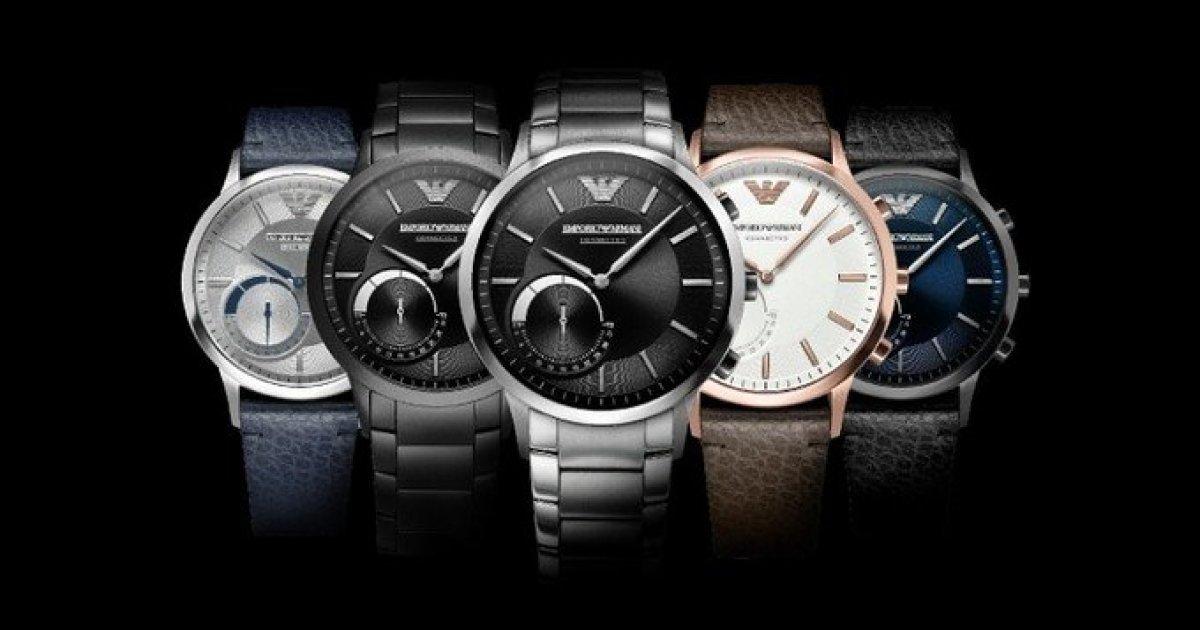 8ad61179b81 Emporio Armani lança a sua primeira coleção de Smartwatches - 4gnews