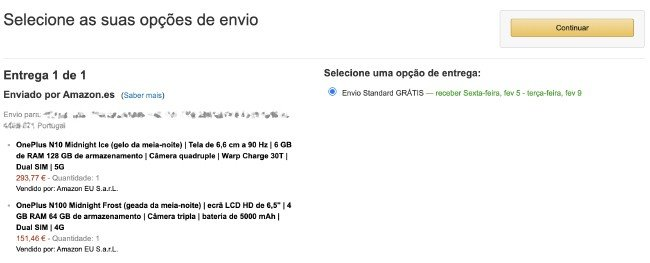 Amazon em Portugal