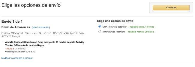 Envios Portugal Amazon