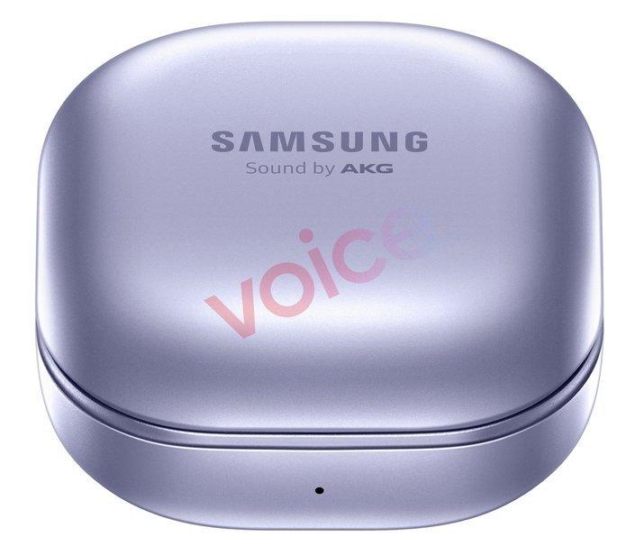 Primeiras imagens dos Samsung Galaxy Buds Pro. Crédito: Evan Blass