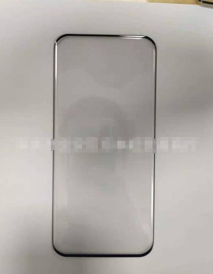 Alegado protetor de ecrã do Xiaomi Mi 11