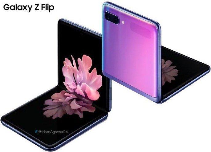Samsung Galaxy Z Flip. Crédito: Ishan Agarwal