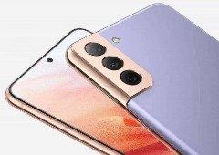 Esquemas mostram o Samsung Galaxy S22 ao lado do iPhone 13