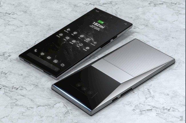 Este smartphone (conceito) é inspirado no Tesla Cybertruck e é fantástico!