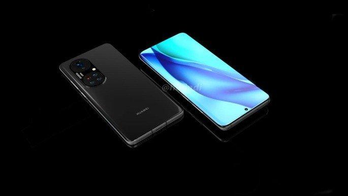 Alegado design do Huawei P50 Pro+