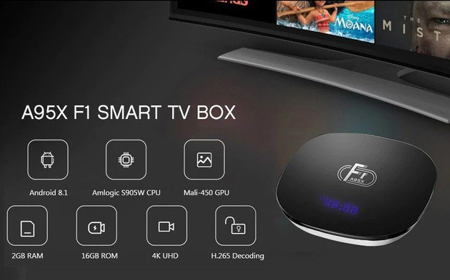 F1 Android TV Box
