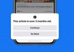 Facebook combate partilha de conteúdos desatualizados com nova funcionalidade!