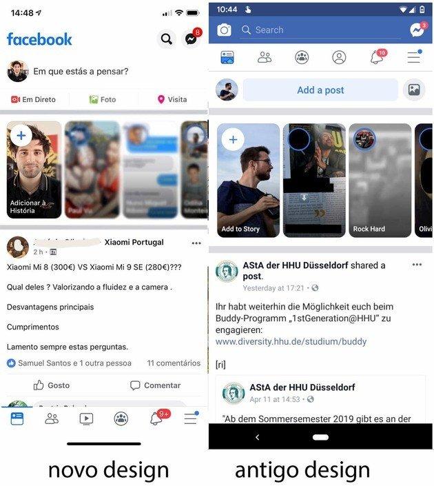 Design Facebook