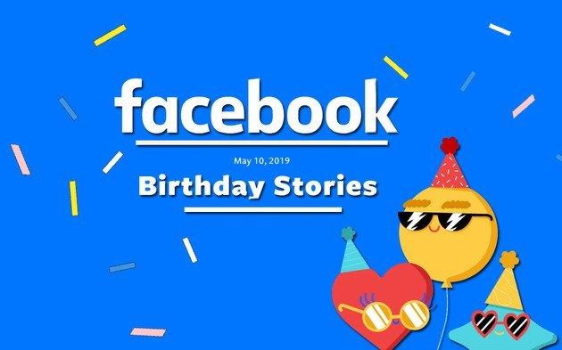 Facebook Birthday Stories