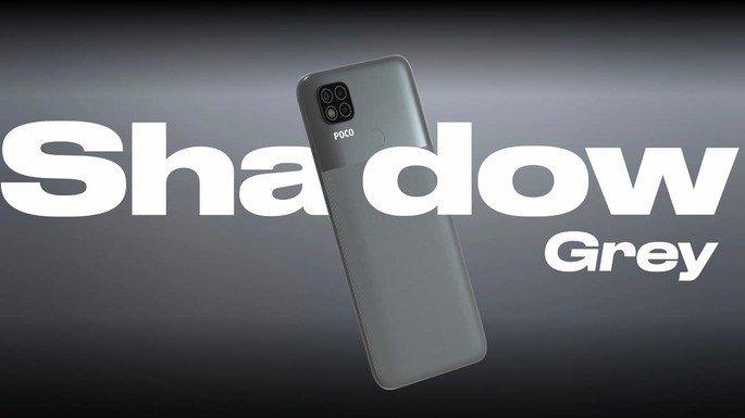 Xiaomi POCO C31 disponível em azul e cinzento