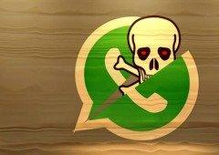 Spyware no WhatsApp! Atualiza a aplicação agora!