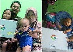 """Família dá o nome de """"Google"""" ao seu mais recente filho!"""