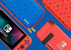 Fãs de Super Mario já podem encomendar a edição especial da Nintendo Switch