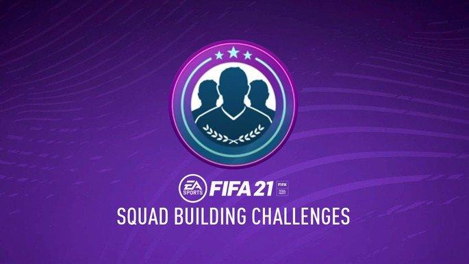 FIFA 21: Desafios de Construção de Equipas