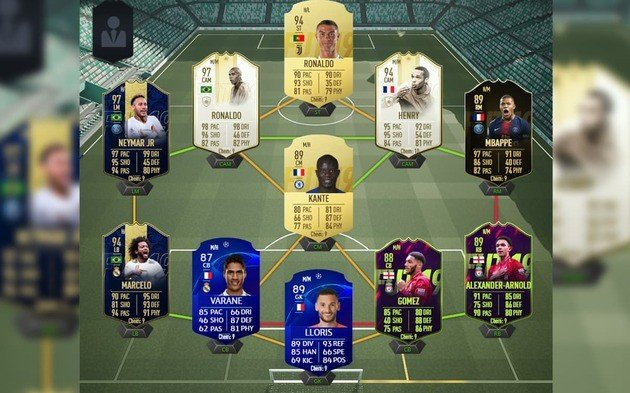 FIFA 19 Ultimate Team Dream Team