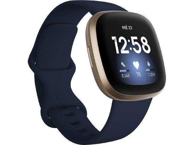 Fitbit versa 3 em azul