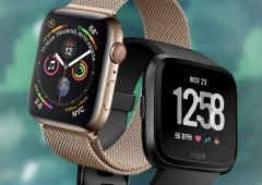 A chegada do novo Apple Watch Series 4 arrasou a Fitbit