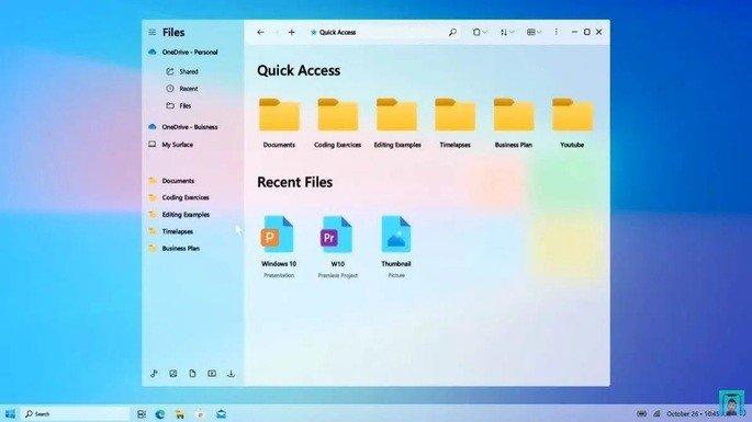Sistema de Design Fluente da Microsoft