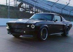 Ford Mustang ganha versão elétrica com design inspirado na Tesla