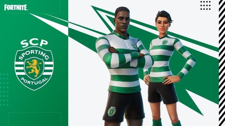 Fortnite: adeptos do Sporting Clube de Portugal recebem mimo da Epic Games!