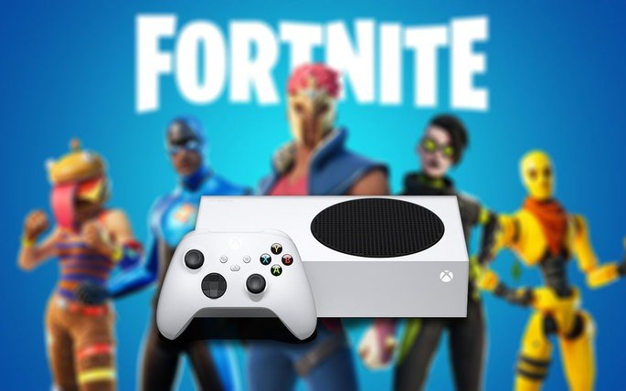 Fortnite Xbox Series S