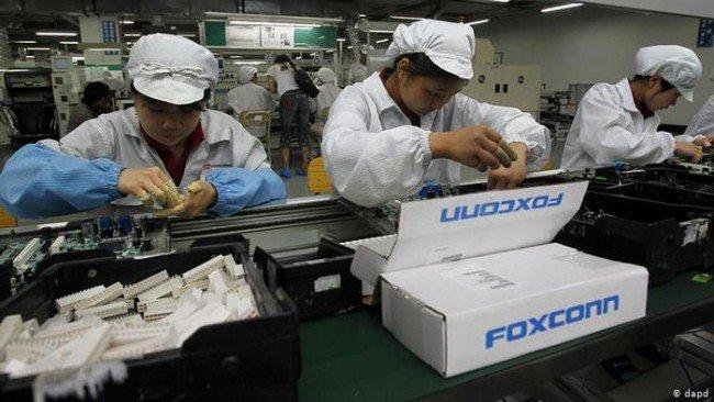 Trabalhadores Foxconn