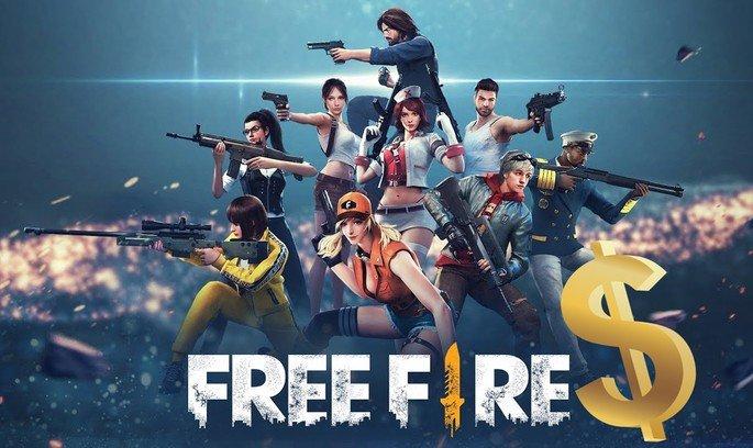 Free Fire dinheiro