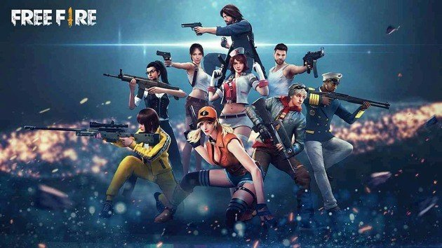 Garena Free Fire personagens
