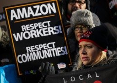 Funcionários da Amazon estão a fazer greve durante o Black Friday