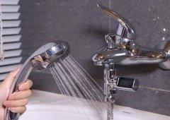 Gadget que te diz a temperatura da água do teu chuveiro custa apenas 10€