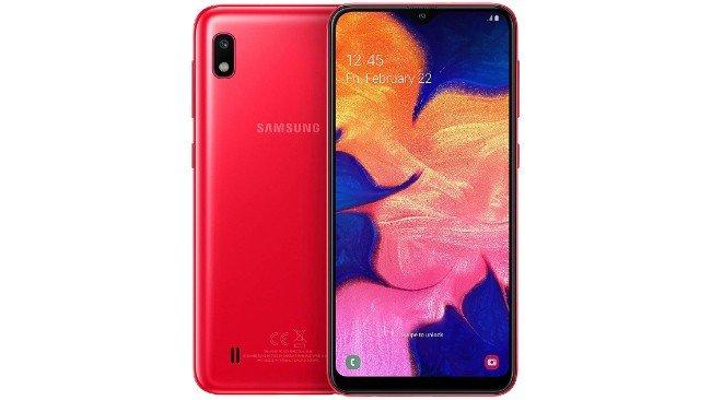 Samsung Galaxy A10 em branco