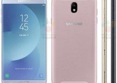 Imagem revela o Galaxy J7 (2017) em quatro cores diferentes