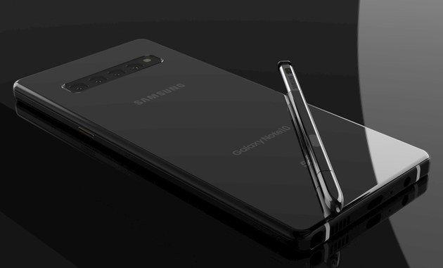 Samsung Galaxy Note 10 conceito