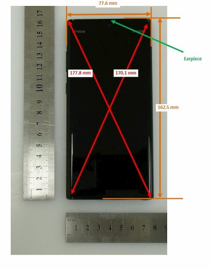 samsung galaxy note 10 fcc